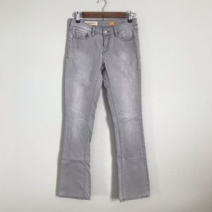 Pilcro and the Letterpress Gray Jeans. Size 25!